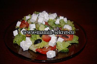 как приготовить дома вкусный греческий салат