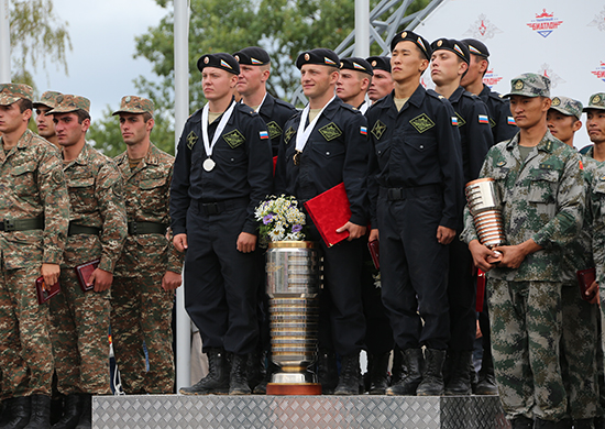 Российские танкисты чемпионы