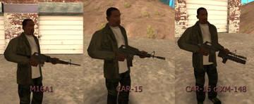 Пак оружия из Battlefield: Vietnam