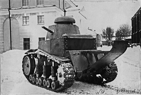 Т-16 - танк сопровождения (полковой). DkPL3