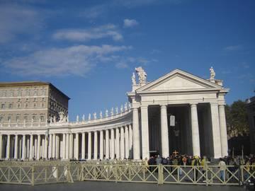 Площадь Св. Петра (Piazza San-Pietro)