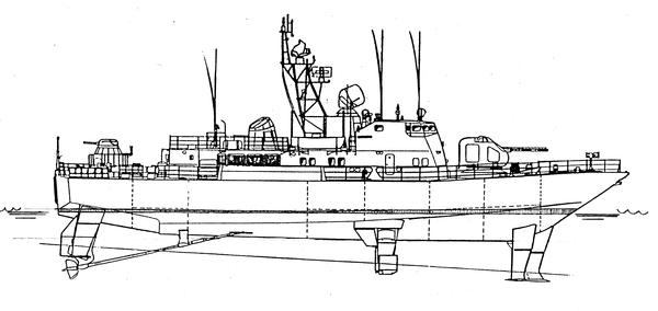 Проект 133 «Антарес» - пограничный сторожевой корабль (ПСКР) VJ85r