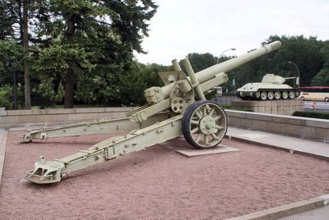 МЛ-20 - 152-мм гаубица-пушка образца 1937 года (52-Г-544А) J1lQk