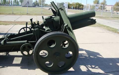 152-мм мортира образца 1931 года («НМ», индекс ГАУ — 52-Г-521) KKAb7