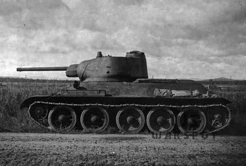Т-43 - средний танк (1942 г.), опытный LJe2Q