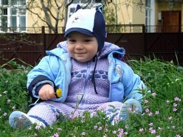 детский вязанный комбинезон своими руками