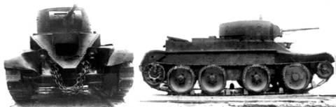 БТ-7 - лёгкий колесно-гусеничный танк P7Gz2