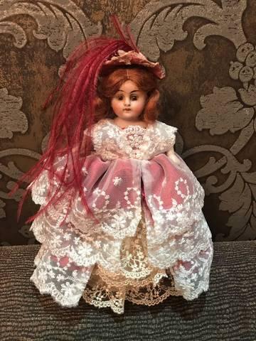 Немецкая антикварная куколка Kestner, молд 208